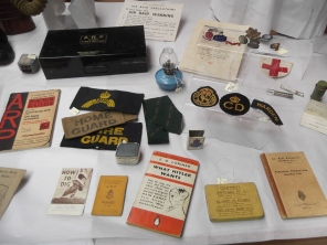 Some of the objects on the table.
