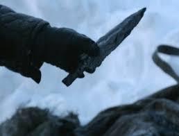 A Dragonglass dagger.